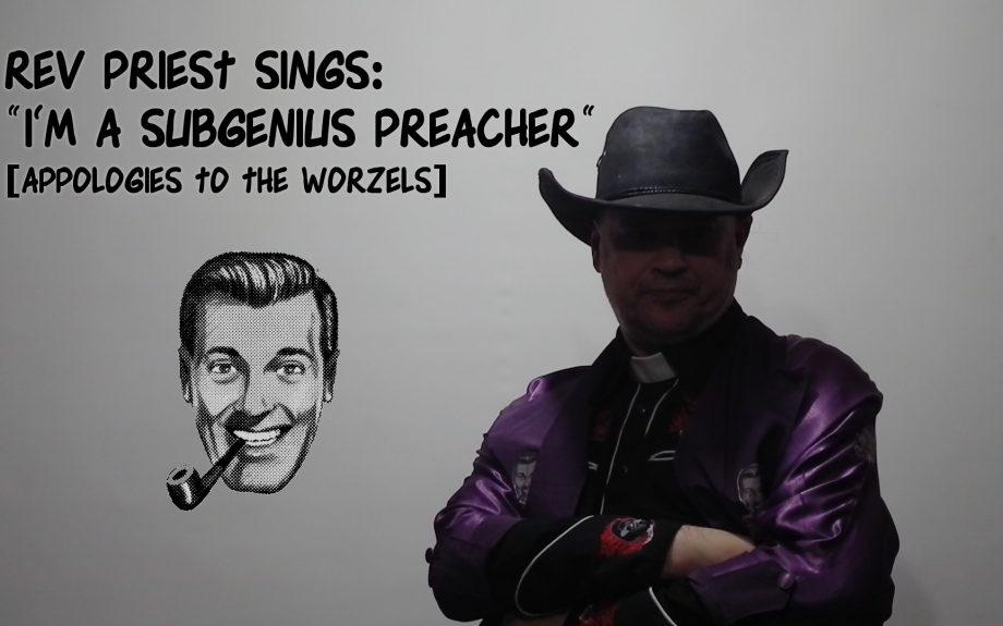 Subgenius Preacher Cover