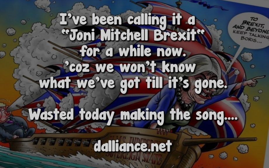 Joni Mitchell Brexit Titles